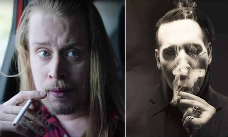 Marilyn Manson and Macaulay Culkin