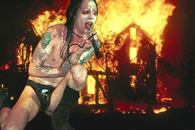 Marilyn Manson's Phobia