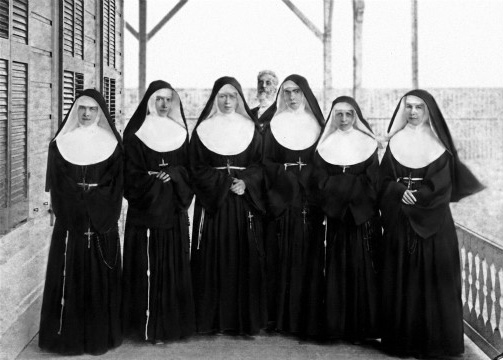 Meowing And Biting Nuns