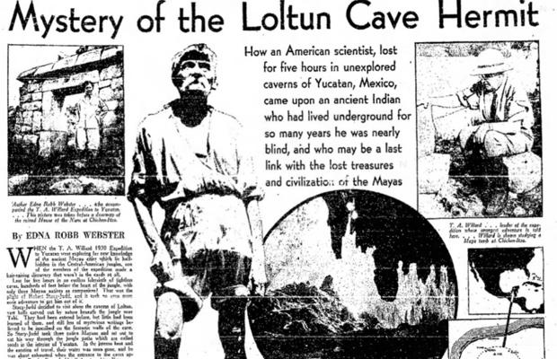 Loltun Cave Hermit