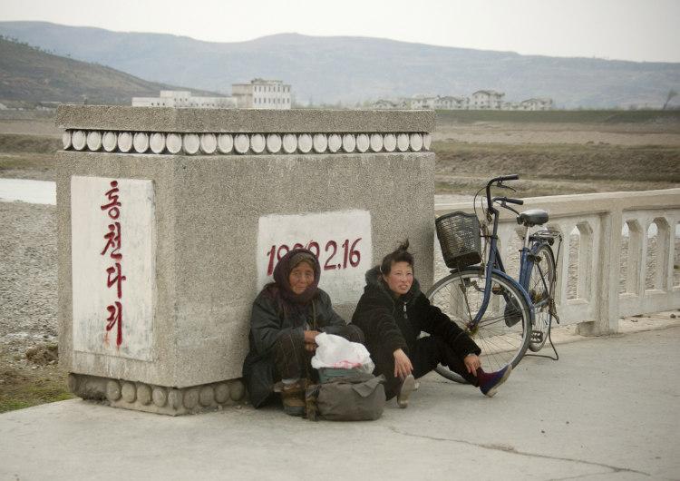 Tired North Korean People