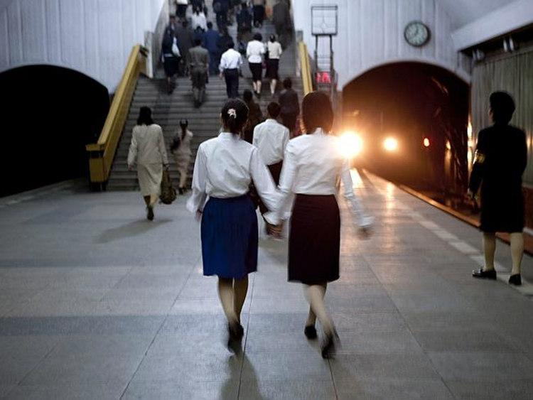 Subway in Pyongyong