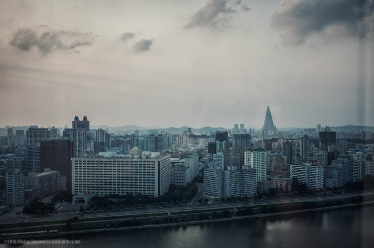 View of Pyongyang