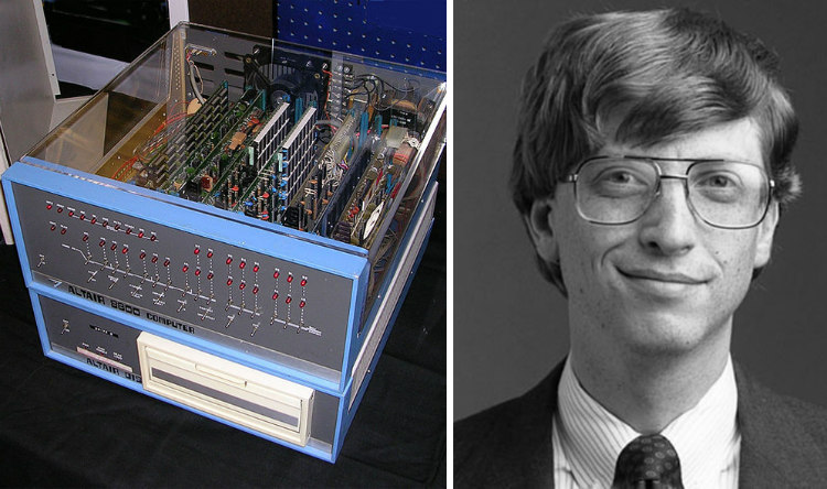 Altair 8800 and Bill Gates
