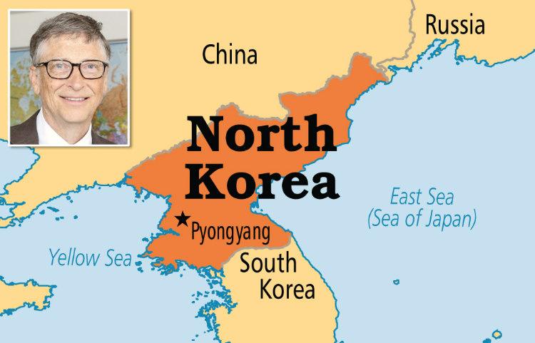 Bill Gates and North Korea