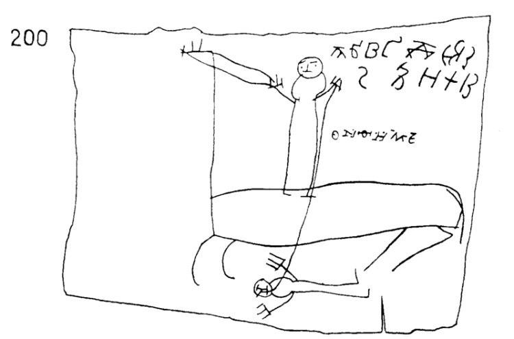 Horseman and Partial Alphabet