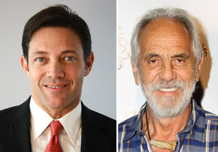 Jordan Belfort and Tommy Chong