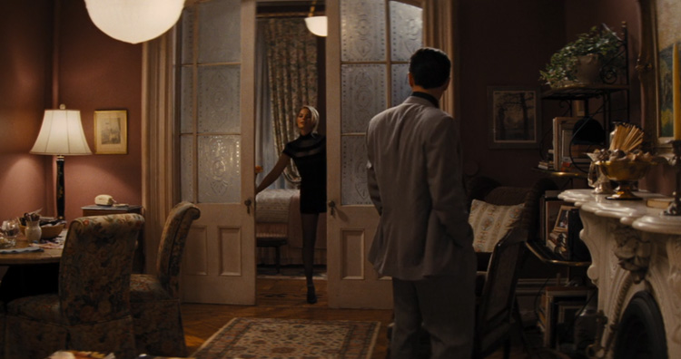 Margot Robbie bathrobe scene