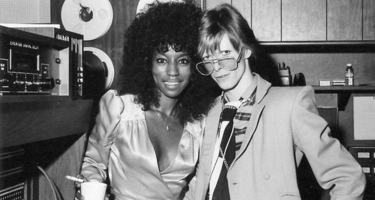 ola hudson and david bowie