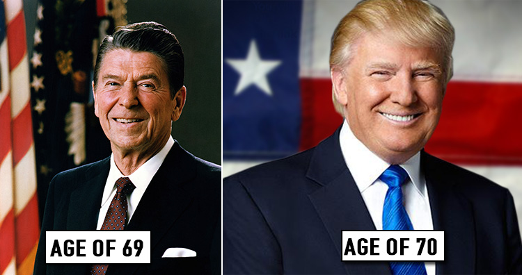 Trump is the oldest president elected