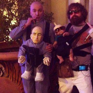 Thaddeus with Dr.Evil