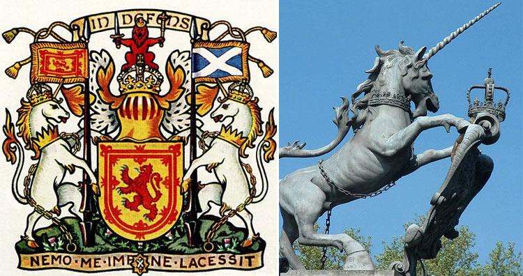 Unicorn scotland