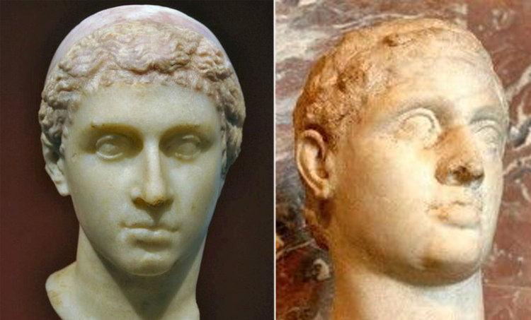 Cleopatra VII and Ptolemy XIII