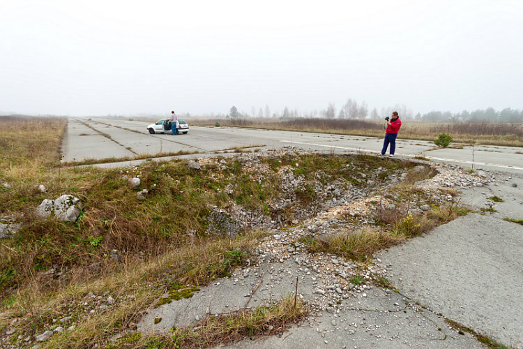 Damaged Runway