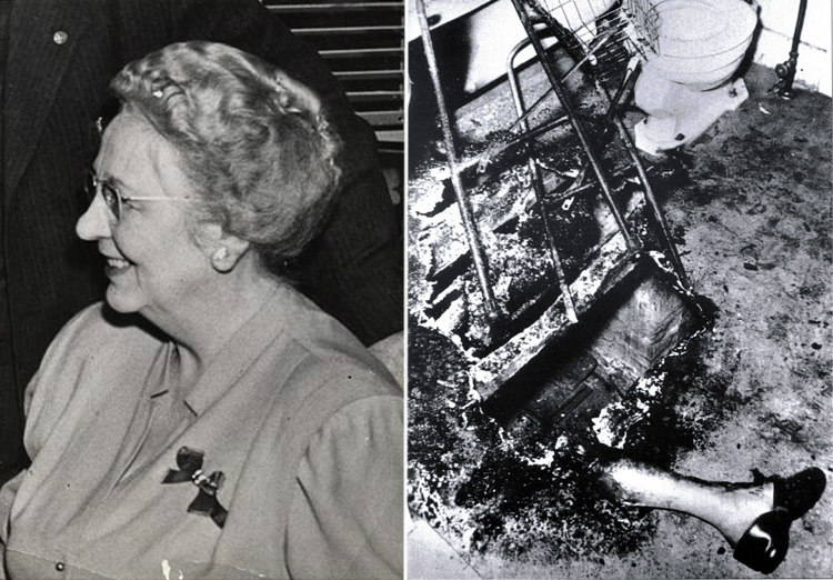 Mary Hardy Reeser - Spontaneous Human Combustion