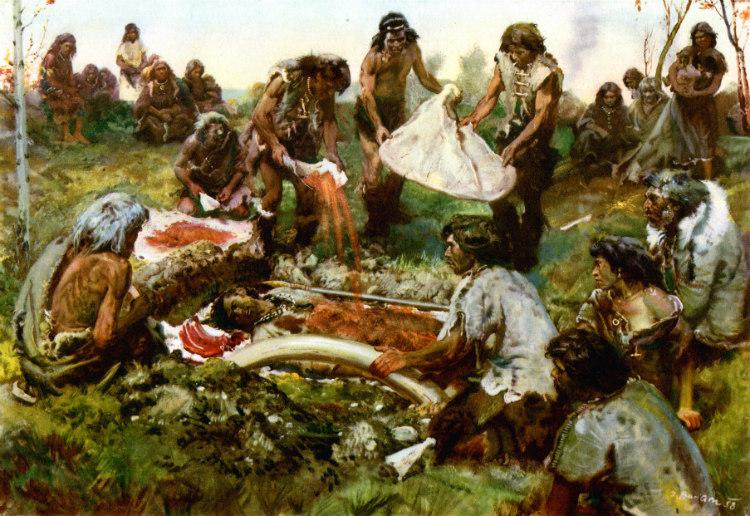 Paleolithic Burials