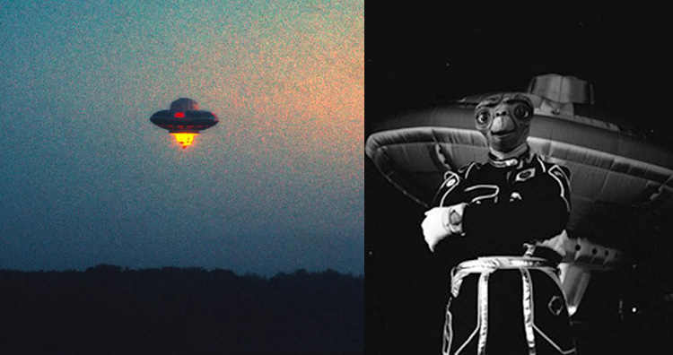 Richard Branson UFO prank