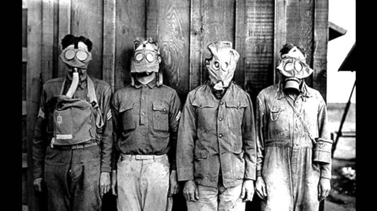 Mustard gas experiments