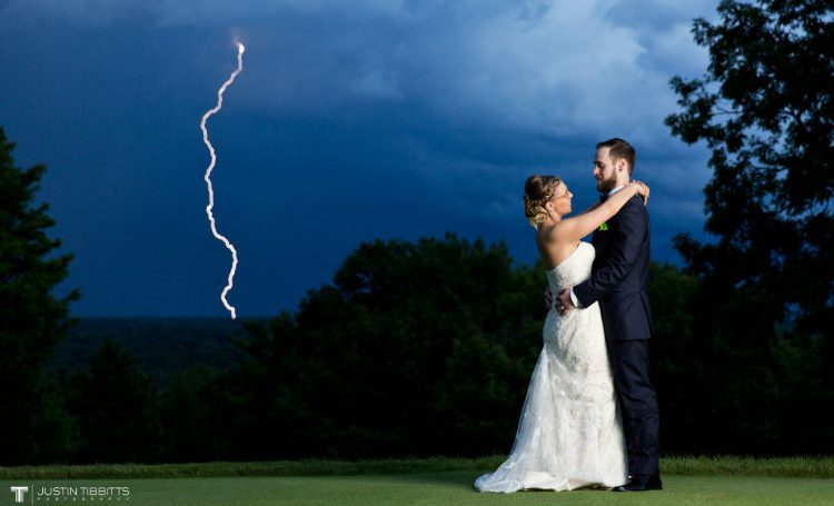 Lightening wedding