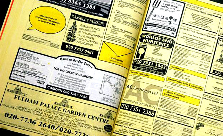 Yellow Pages Classifieds