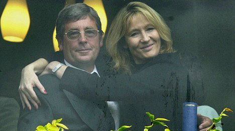 JK Rowling and Father