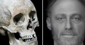 Reconstruct the Face of a Cambridge Man