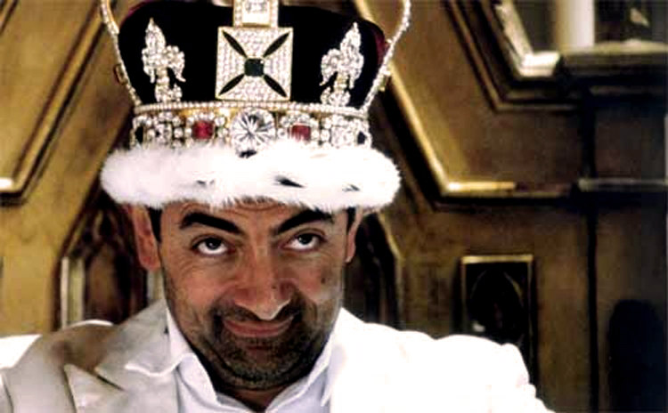 Johnny English with Crown