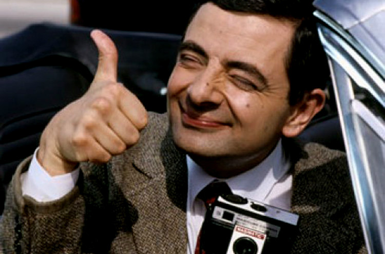 Mr. Bean Thumbs Up