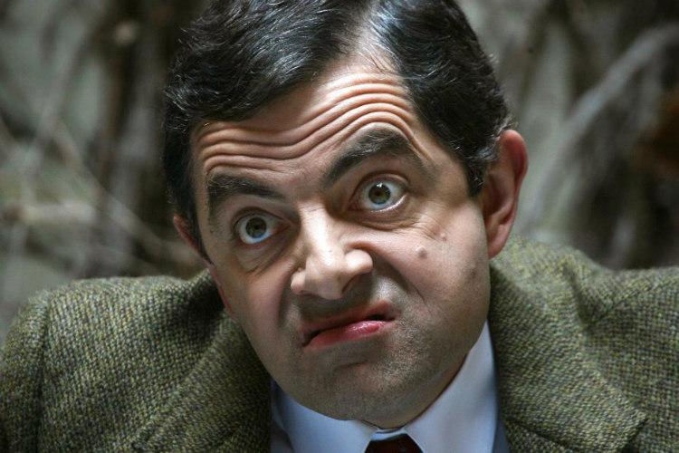 Rowan Atkinson's Stutter