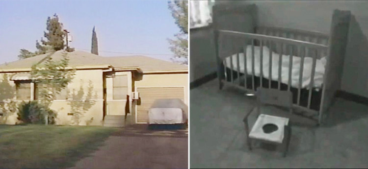 Genie's Childhood Home, the Potty and the Crib