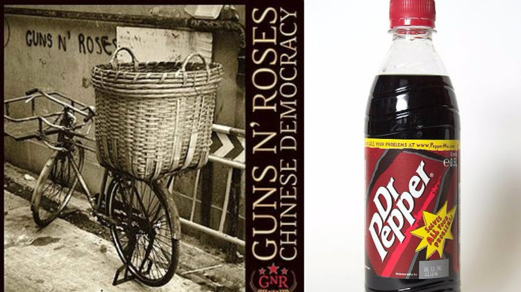Dr. Pepper and Chinese Democracy