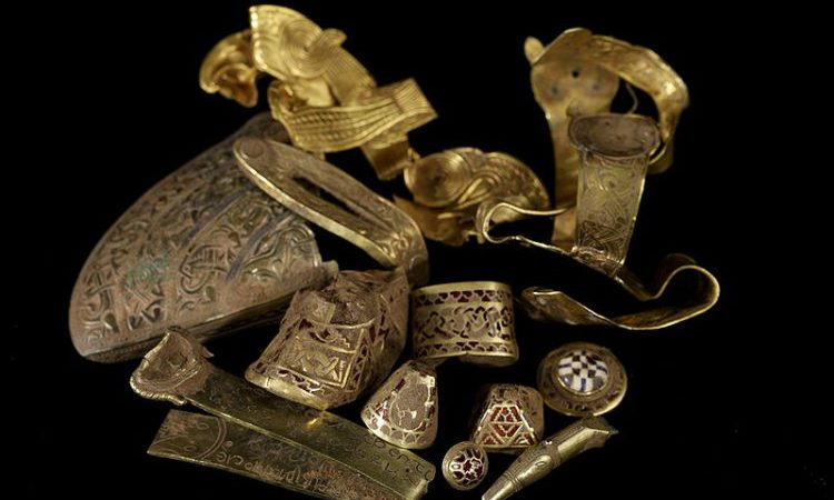 Anglo-Saxon gold and silver
