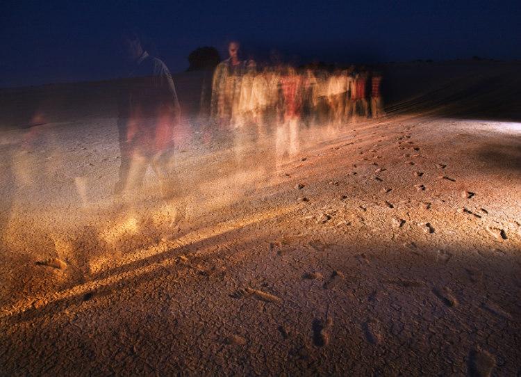 Ancient Footprints, Mungo National Park, Australia