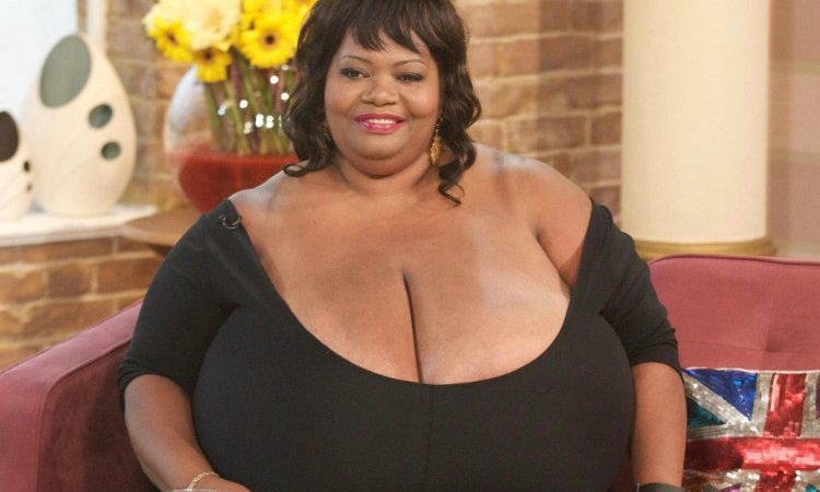 Largest natural breasts