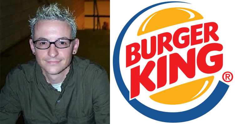 Chester Bennington, Burger King
