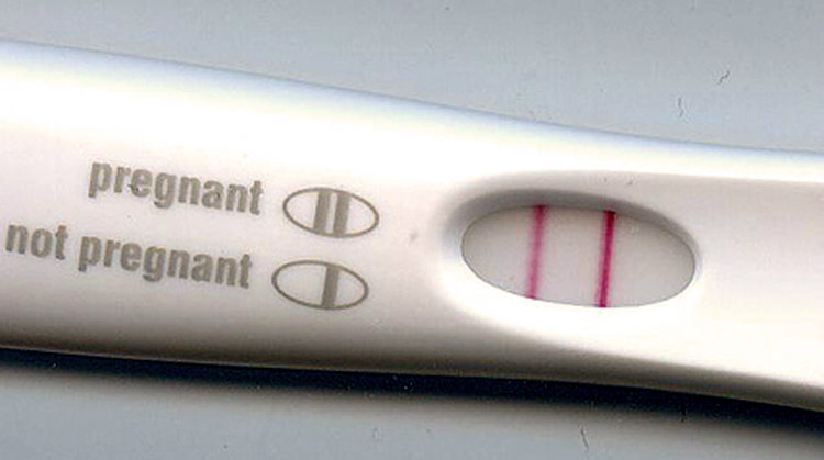 HCG Pregnancy Test Positive