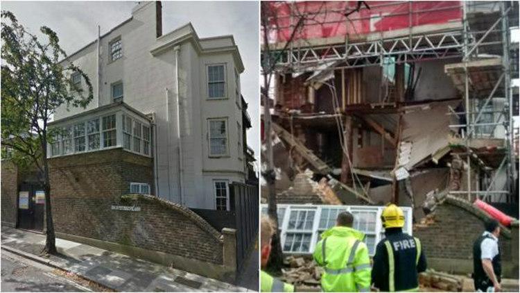 Iceberg House Collapse