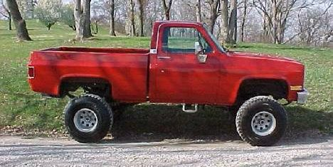 1985 Chevrolet truck thief