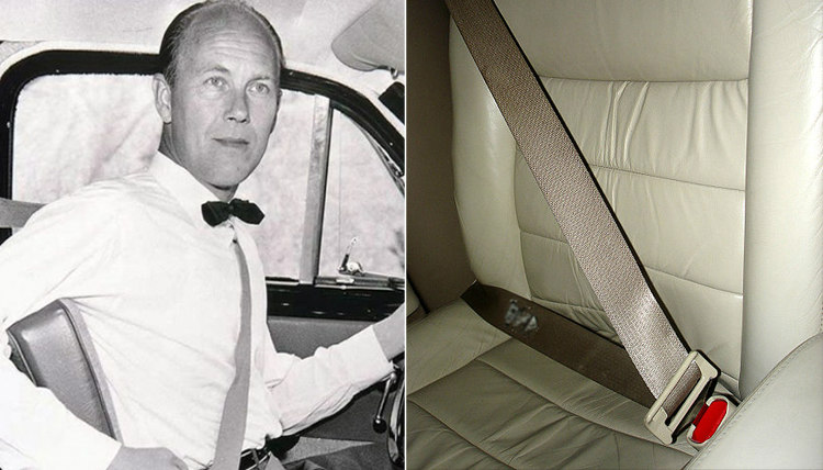 Nils Bohlin and Three-Point Seat Belt