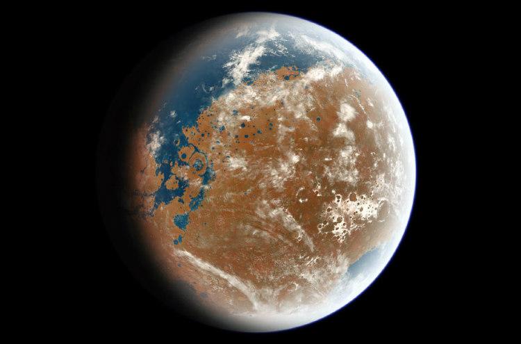 Oxygen-Rich Mars