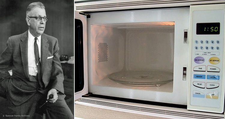 Percy Spencer, Microwave