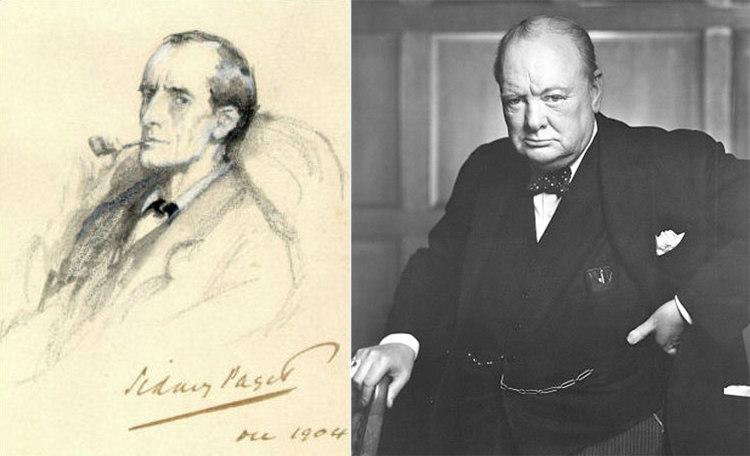 Sherlock Holmes and Winston Churchill
