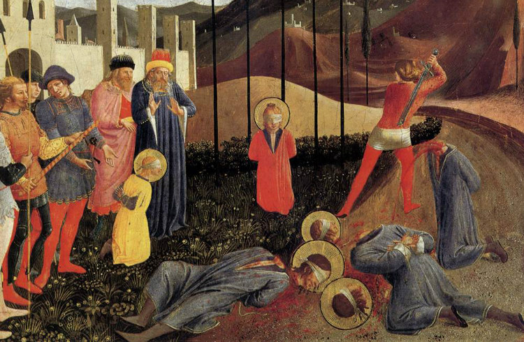 The Beheading of Cosmas and Damian by Fra Angelico