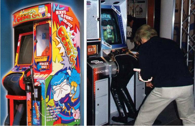 Boonga-Boonga arcade game