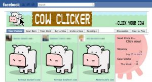 Cow Clicker Facebook game