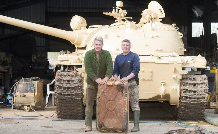 Tank treasure