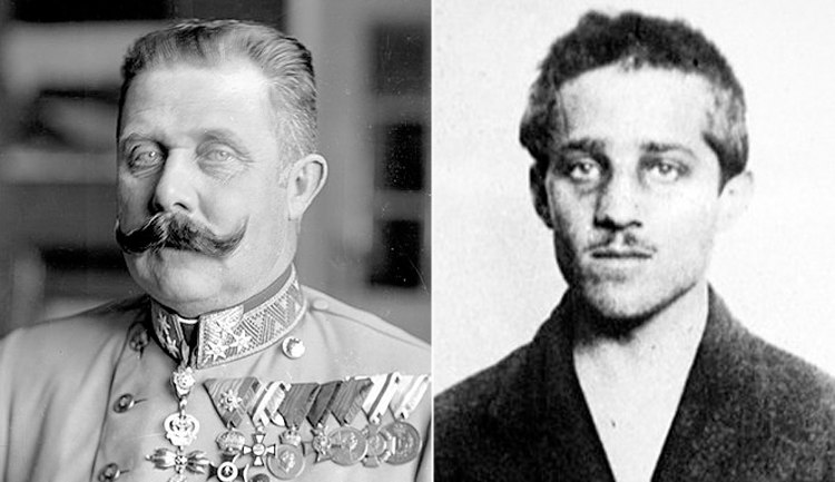 Archduke Franz Ferdinand and Gavrilo Princip - Unbelievable Facts