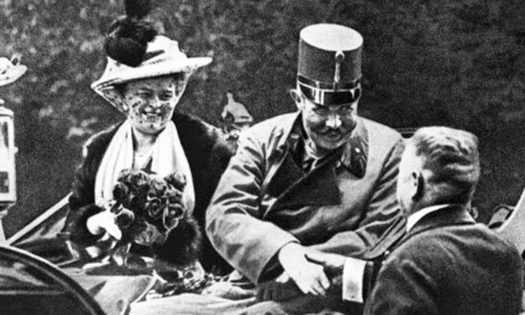 Archduke Franz Ferdinand and wife