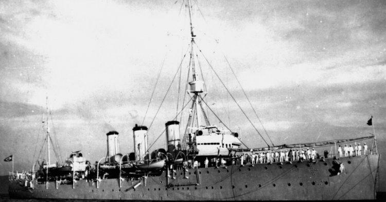 Brazilian cruiser Brahia