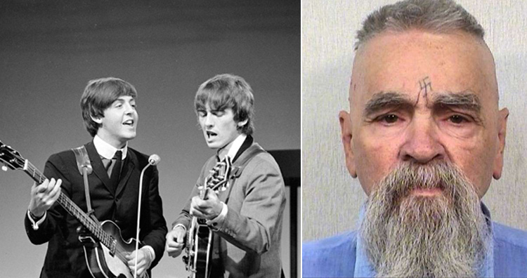 Charles Manson and the beatles